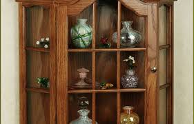 cabinet large curio cabinet revived solid wood curio cabinet