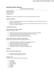 Skill resume Free Editor Resume Sample Copy Editor Resume