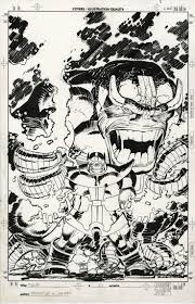 The Cover To Thor 1998 21 By John Romita Jr And Klaus