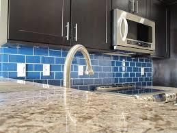 Vapor Light Blue Glass Subway Tile by Glass Subway Tile Backsplash Ideas Modern Kitchen 2017