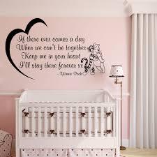 Winnie The Pooh Nursery Decor Ireland by Winnie The Pooh Sticker Nursery Bedroom Wall Art Quote Baby