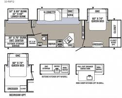 Travel Trailer Floor Plans With Bunk Beds by 2017 Palomino Puma 32 Rbfq Travel Trailer Owatonna Mn Noble Rv