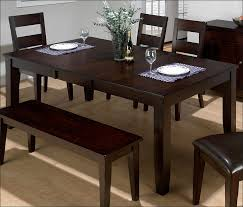 Bench For Counter Height Table by Kitchen Dinette Sets Tall Dining Table Kitchen Table With Bench