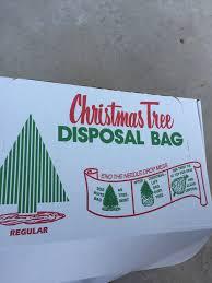 Christmas Tree Disposal Bag Brungot Farms