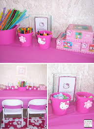Hello Kitty Room Decor Walmart by Character Week Hello Kitty Party Ideas Soiree Event Design