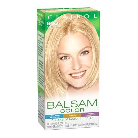 Clairol Balsam Color Hair Color, 600 Palest Blonde, Multi-color