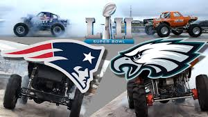 Eagles Of Patriots? Trucks Gone Wild Tug-of-war Predicts Super Bowl ...