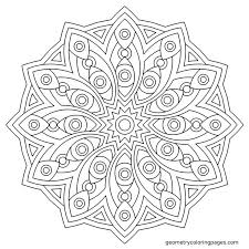 Coloring Page At Geometrycoloringpages