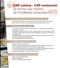 diplome cap cuisine cap restaurant ecole hôtelière daniel brottier joseph