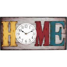 Better Homes And Gardens 20 Big Rectangle Home Wall Clock