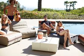 Gloster Outdoor Furniture Australia by Gloster Nomad Lounge Conversation Set Eclectic Patio Los
