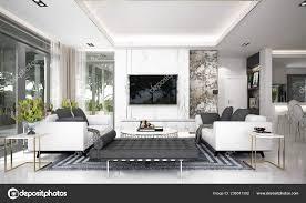 100 Modern Luxury Design Living Room Interior Concrete Texture