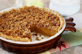 Pumpkin Pie With Pecan Praline Topping by A Southern Classic Sweet Potato Pie