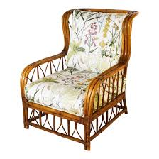 100 1960 Vintage Metal Outdoor Chairs Luxury S Rattan Chair With Botanical Print DECASO