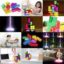 Tetris Stackable Led Desk Lamp Ebay by Tetris Light Ebay