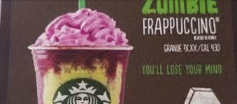 Starbucks Halloween Zombie Drink Copies Unicorn Frappuccino