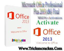 Microsoft fice Professional Plus 2013 x86 Final MSDN Activation