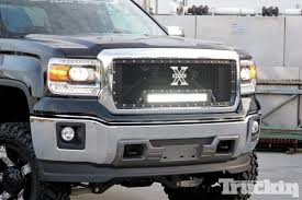 2014 GMC Sierra T-Rex Torch Series Front Grille Install - Truckin ... Xgrill Extreme Grilling Truck Fleet Owner Man Trucks Grill In Europe Truck Accsories Freightliner Grills Volvo Kenworth Kw Peterbilt Remington Edition Offroad 62017 Gmc Sierra 1500 Denali Grilles Bold New 2017 Ford Super Duty Now Available From Trex Truck Grill Photo Gallery Salvaged Vintage Williamsburg Flea United Pacific Industries Commercial Division Dodge Grills 28 Images Custom Grill Mesh Kits For Custom Coeur D Alene Grille Options The Chevrolet Silverado Billet Your Car Jeep Or Suv