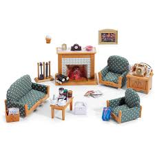 buy sylvanian families deluxe living room set 5037