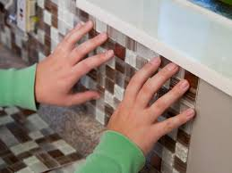 Adhesive Backsplash Tile Kit by How To Install A Backsplash How Tos Diy