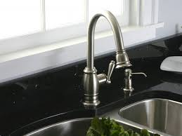 Brushed Nickel Bathroom Faucets by Brushed Nickel Faucet Moen 6410bn Eva Two Handle Centerset