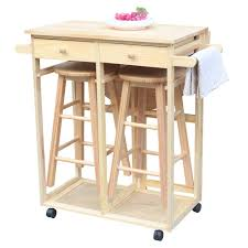 Amazon.com - SSLine Rolling Kitchen Island With Seating 3pcs Dining ... Space Saving Kitchen Table And Chairs House Design Ipirations Saver Marvellous Classic Ikea Folding Ding Tables Surripuinet Spacesaving 4 Seater Ding Table Set In Blairgowrie Perth And Interior Sets With Next Day Delivery Room Set Value Compact 2 Seater Ideas 42 Inch Round Langford For 7500 Sale Of 3 Rustic Rectangular Benches 5 Pcs Wood W Storage Ottoman Stools Courtyard Costway Piece Dinette