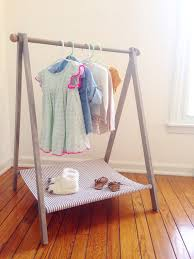 Childs Clothing Rack Display Dress Up Toddler Capsule
