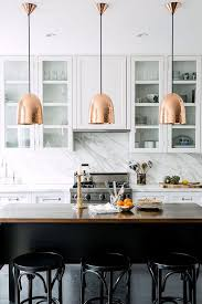 lighting design ideas copper pendant lights kitchen trending