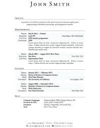 Bad Resume Examples Template For Students Best Student Ideas With Example Highschool Home Improv 0 College