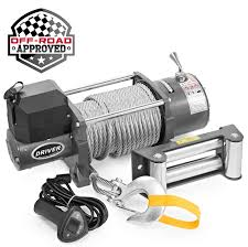 Electric Self Recovery Winch For Jeep Truck Trailer SUV - 17,000 Lb ... 1979 Kosh F2365 Winch Truck For Sale Auction Or Lease Covington Leyland Daf 4x4 Winch Ex Military Truck For Sale Mod Direct Sales Champion 100 Lb Power Generators 11006 Car Tow Online Brands Prices Reviews In Trailer Electric Wremote Control 12000 Lbs Pulling Superwinch Industrial Winches Used Trucks Tiger General Llc 1986 Mack R688st Oilfield Sold At Auction 2016 Sema Ramsey Willys Pickup Rc Adventures 300lb Line The Beast 110 Scale Trail A Vehicle Onto Car Tow Dolly Youtube