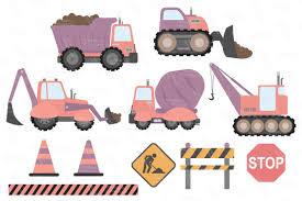 100 Construction Trucks Clipart In Vintage By Amanda Ilkov