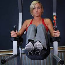 Captains Chair Leg Raise Youtube by Stephanie Conquered Personal Trauma With Fitness