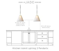 pendant lighting height medium size of cool kitchen light pendant