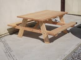 Picnic Table From Kreg Jig Website Needs Intermediate Woodworking Skills