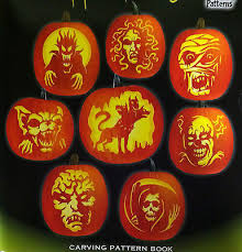 Pumpkin Masters Carving Kit by Pumpkin Masters Halloween Horrors Carving Pattern Book W 8