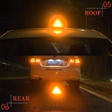100 Strobe Light For Trucks Car LED Warning Rear Wireless Emergency S Vehicle