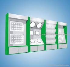 fashion led light showcase ls tester display cabinet in other