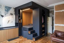 That Come To Mind When Confronted With Limited Living Space Is Where Put All My Stuff Here We Have A Magnificent Ingenious Solution By Batiik Studio