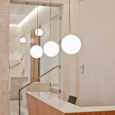 ic s2 designer pendant l by flos brass lights co uk