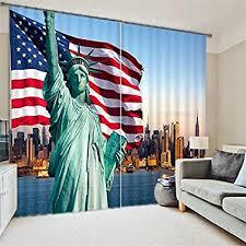 sproud freiheitsstatue amerikanische flagge zimmer