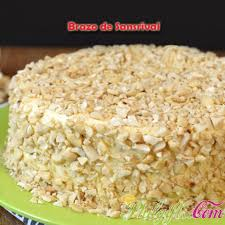 Phil ts Brazo de Sansrival Cake
