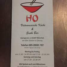 ho vietnamesische küche sushi bar vietnamesisches
