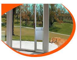 Doggie Door Insert For Patio Door by Fully Automatic Pet Doors Adapted For Sliding Glass Doors