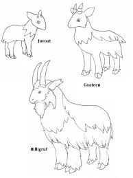Marsupial Lion Coloring Page Online Pages Starting With Stunning Three Billy Goats Gruff