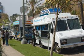 Food Trucks Occupy Too Much 'Space' - Park Labrea News/ Beverly ... Commission Moves To Legalize Regulate Food Trucks Santa Monica Global Street Food Event With Evan Kleiman In Trucks Threepointsparks Blog Private Ding Arepas Truck In La Fast Stock Photos Images Alamy Best Los Angeles Location Of Burger Lounge The Original Grassfed Presenting The Extra Crispy And Splenda Naturals Truck Tour Despite High Fees Competion From Vendors Dannys Tacos A Photo On Flickriver