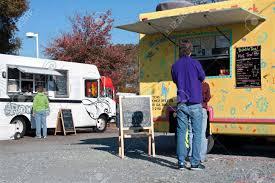 100 Food Trucks Atlanta GA November 17 2012 Customers Buy Food From Highend