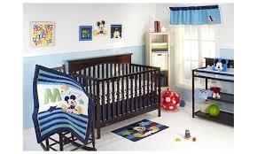 disney my friend mickey mouse 4 piece crib bedding set groupon