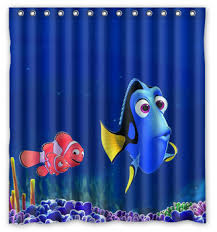 Buy Custom Finding Nemo Dory Size 66x72 Inch Shower Curtain Home