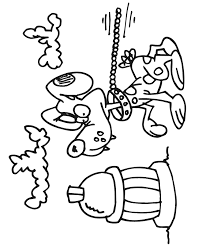 Fire Dog Coloring Pages Images Pictures