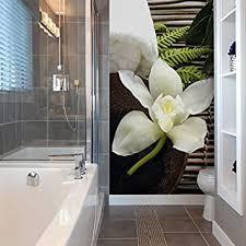 fototapete wellness orchidee bad entspannung relaxen blume